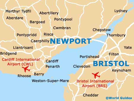 Newport Maps and Orientation Newport Gwent Wales