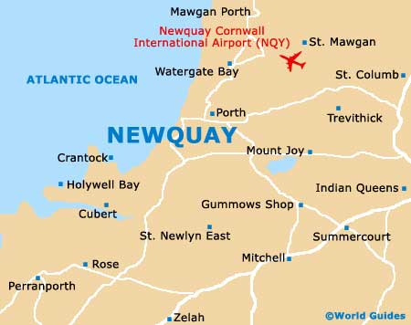 Small Newquay Map