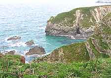 Coastal view of Newquay