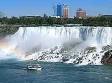 Picture of the dramatic Niagara Falls themselves