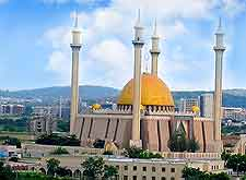 Picture of National Mosque located in Abuja, capital of Nigeria