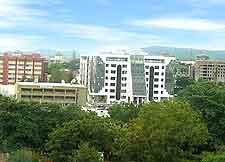 Skyline photo of Abuja, capital of Nigeria
