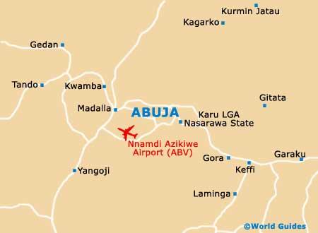Abuja map