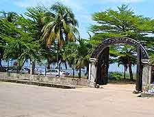 Picture taken in the slave port in Badagry