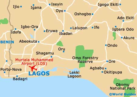 Lagos Africa Map | Map Of Africa