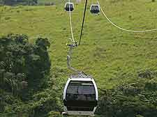 Additional picture of cable cars at the Obudu Mountain Resort