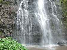 Seasonal photo of the Owu Falls, Owa-Kajola, Nigeria