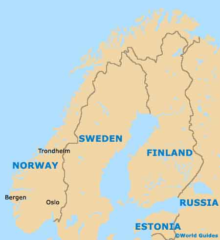 Norway Tourism And Tourist Information Information About Norway - Where is norway