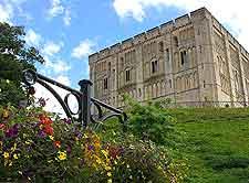 Picture of the hilltop Norwich Castle