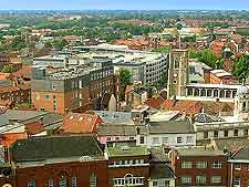 City centre photograph