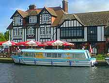 Image of Norfolk Broads riverside pub