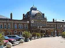 Photo of city railway station