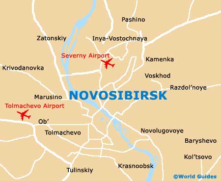 Small Novosibirsk Map