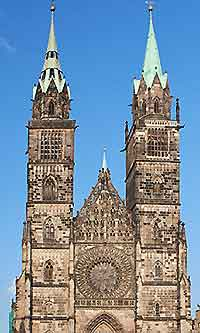 Picture of Nuremberg's St. Lorenz Cathedral (Lorenzkirche)