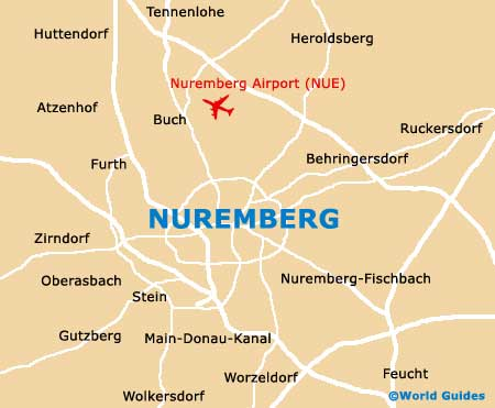 Small Nuremberg Map
