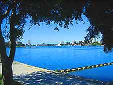 View across Lake Merritt