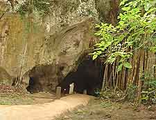 Image showing the entrance to the Green Grotto Caves attraction, nearby Ocho Rios