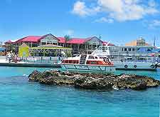 Photo of waterfront dining in Ocho Rios