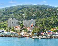 Ocho Rios coastal view