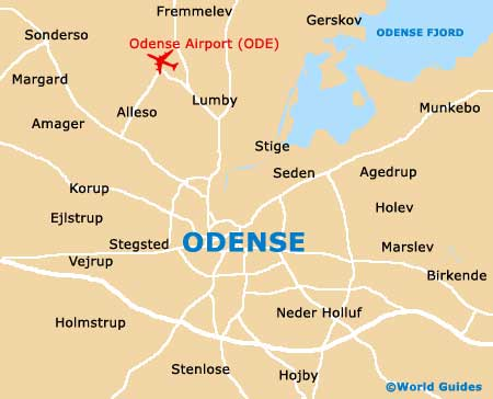 Small Odense Map