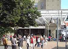 Photo of shoppers in the city centre