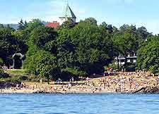 Photo of popular city beach
