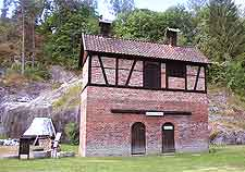 View of the Blaafarvevaerket