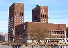 Photo of Oslo's Town Hall (Radhus)