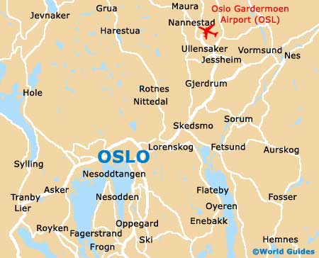 Small Oslo Map