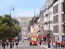 Picture showing the Karl Johans Gate area