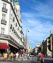 Photo of shops around Karl Johans Gate
