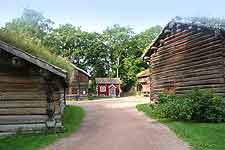 Picture of the Norsk Folkemuseet (Norwegian Folk Museum)