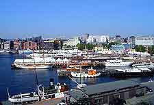 Oslo Airport (OSL) Airlines and Terminals: View of the harbour