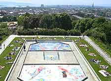 Aerial picture of St. Hanshaugen Park