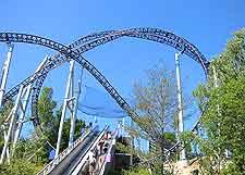 Photo of the TusenFryd Amusement Park at Vinterbro