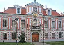 Picture of historic building in central Opava