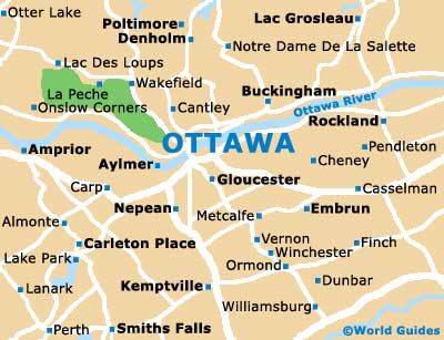 Small Ottawa Map