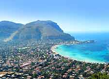 Image of Palermo showing the beach
