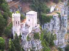 View of fortress at Erice