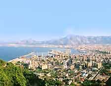 View showing La Vucciria district