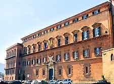 View of the Palazzo dei Normanni