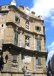 Photo of the Quattro Canti district