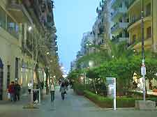 Picture of central shopping district