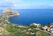Picture of the Solunto coastline