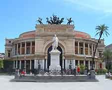 Photo of the city's Theatre Square