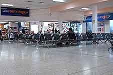 Photograph of airport terminal