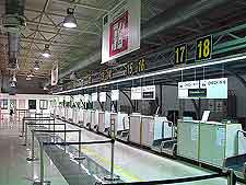 Further picture taken inside the airport's terminal