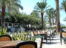 Photo of al fresco cafe tables