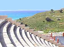 Picture of the town's ancient Odeon Amphitheatre