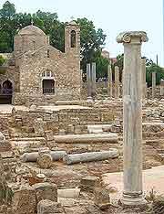 Photo taken onsite at the Agia Solomoni / Christian Catacomb